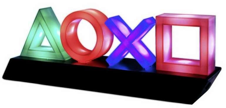 "Sony Playstation Lampe ""Icons"" Dekolampe für 20,98€inkl. Versand (statt 25€)"