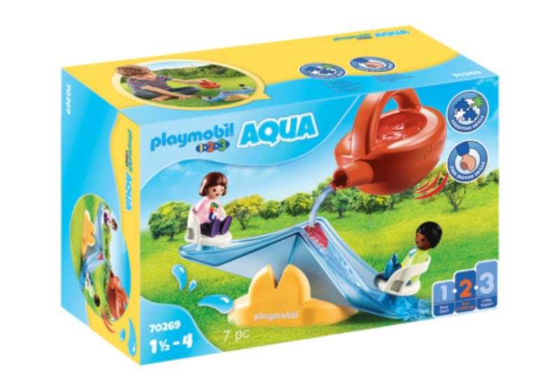 Playmobil 1.2.3 Aqua Wasserwippe mit Gießkanne (70269) für 6,49€ inkl. Versand (statt 10€) - Thalia Club!