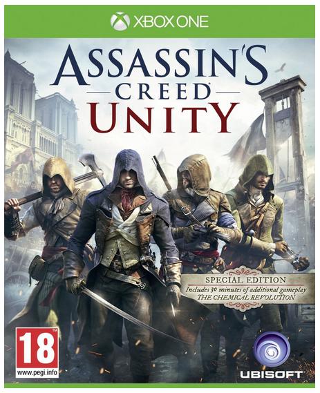 Assassin's Creed: Unity für XBOX One für 0,39€ (Digital Code)