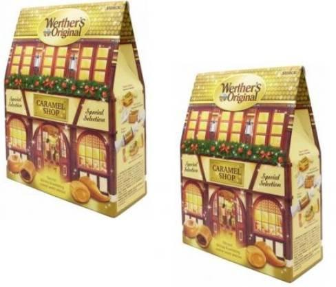 2er Pack Werther's Original Spezial Selection Karamell Shop Box (je 250g) ab 11€