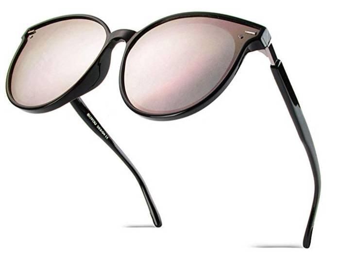 BoYou Retro Vintage Damen Sonnenbrille (Mirrored, Ultra Thin) für 13,99€ (Prime)