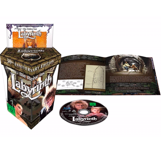 Die Reise ins Labyrinth - 30th Anniversary Gift Set Edition (Blu-ray) für 19,94€