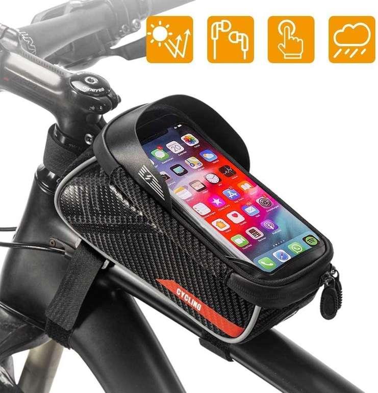 Irfora wasserdichte Fahrradtasche mit Smartphone Halterung für 9,99€ inkl. Versand (statt 20€)