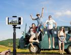Mpow Bluetooth Selfie Stick mit Stativ, Bluetooth- Fernauslöser für 17€