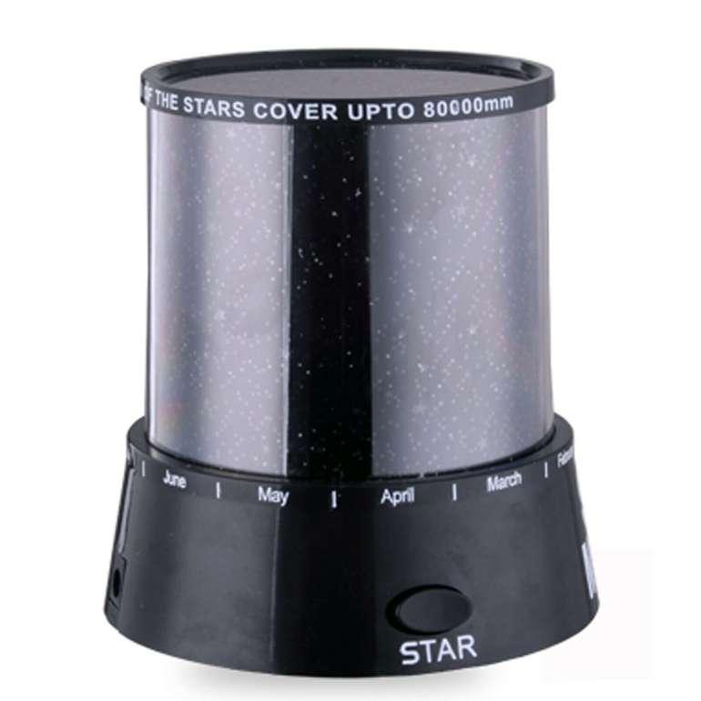 LED Sternenhimmel-Projektor mit 3 Leuchtprogrammen für 9,90€ inkl. Versand (statt 12€)