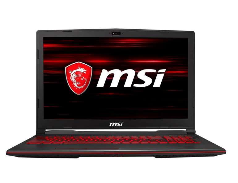 "MSI GL63 8RE-643 Gaming Notebook 15,6"" Full HD, i7-8750H, GTX 1060 6GB, 8GB RAM für 789€ inkl. Versand (statt 898€)"