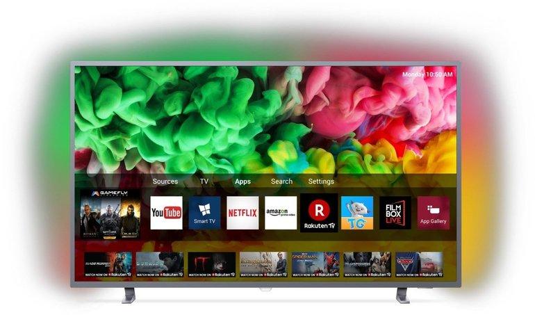"Philips 55PUS6703 - 55"" Smart TV (4K UHD, Ambilight) für 479,90€ inkl. Versand"