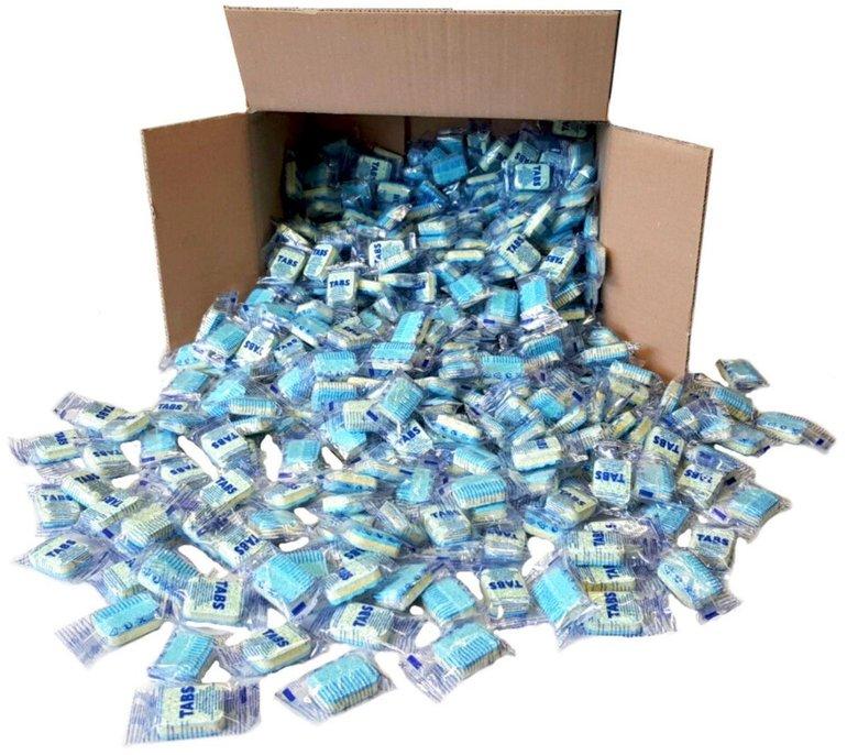 500 Spülmaschinentabs 12-in-1 als Neuware aus frischer Produktion nur 24,90€