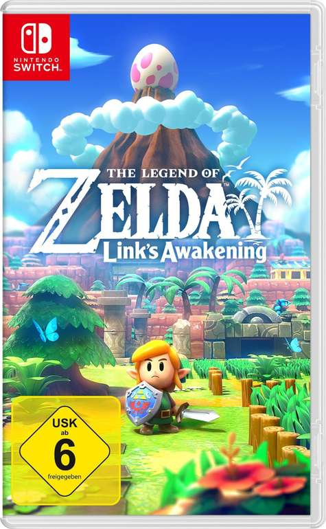 The Legend of Zelda Link's Awakening (Nintendo Switch) für 39,43€ inkl. Versand (statt 46€)