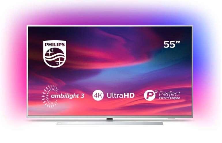 """Philips 55PUS7394 - 55"""" 4K Smart TV (IPS, 60 Hz, 8bit+FRC, 3-seitiges Ambilight, Android TV9) für 599€ inkl. Versand"""