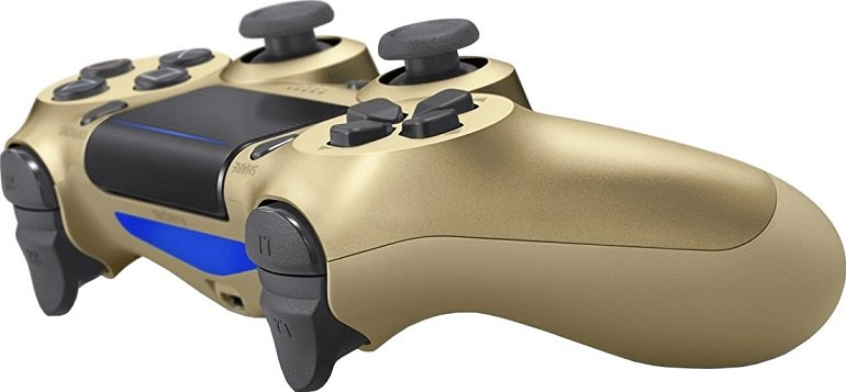 Sony PlayStation 4 V2 Dualshock Wireless-Controller in Gold