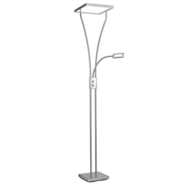 Leuchtendirekt LED-Deckenfluter Marian mit Lesearm (Höhe 195 cm) ab 69,99€