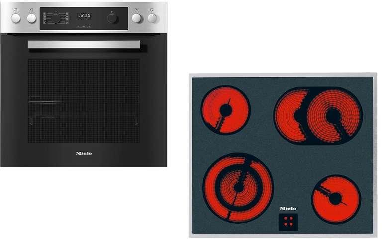 Miele H 2265-1 E + KM 6003 Einbauherd-Set mit Glaskeramik-Kochfeld für 699€ inkl. Versand (statt 899€)