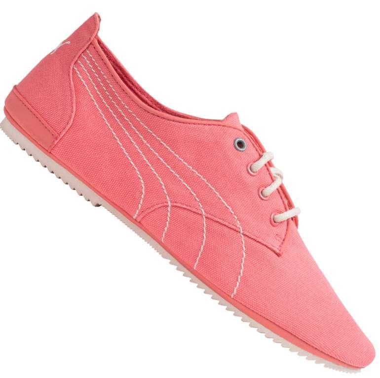 Puma Geselle Canvas Casual Damen Schuhe in Pink für 10,17€ inkl. Versand (statt 28€)