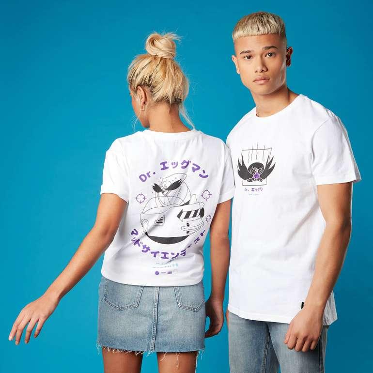 Zavvi: 20% Rabatt auf Sonic the Hedgehog Kollektion + Sonic Tasse, z.B. Shirt + Tasse für 16,68€