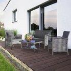 7-teilige Loungegarnitur Julie (Tisch, Stühle + Bank) für 152,65€ (statt 250€)