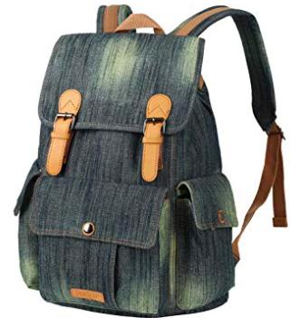 Vbiger Vintage Rucksack für Damen & Herren ab 8,40€ inkl. Prime (statt 28€)