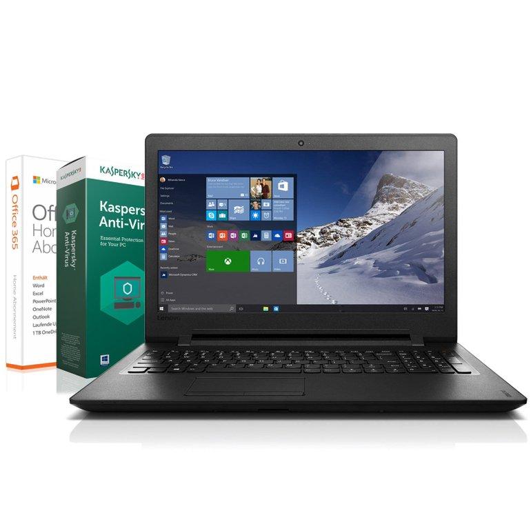 "15,6"" Lenovo Notebook (4GB RAM, 500GB, Win 10 Pro, Office 365) für 249€"