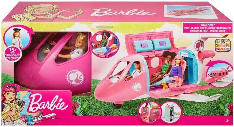 Mattel Barbie Reise Traumflugzeug mit Puppe für 59,99€ inkl. VSK
