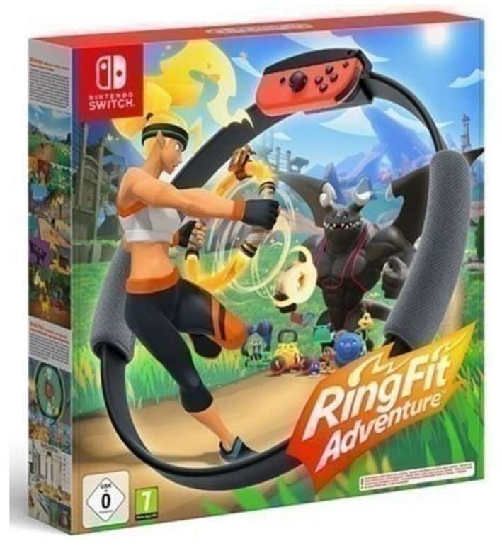 Ring Fit Adventure (Nintendo Switch) für 62,95€ inkl. Versand (statt 71€)