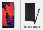 Huawei P20 Pro + Moleskin Set für 1€ + verschiedene Magenta Verträge ab 39,95€