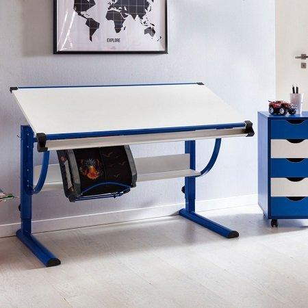 """Wohnling Design Kinderschreibtisch """"Moritz"""" (neigungs-& höhenverstellbar) 69,99€"""