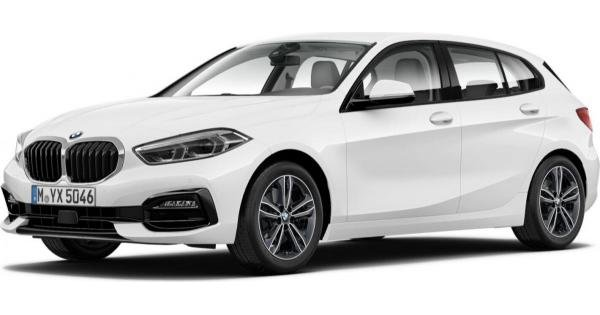 BMW 118 Sport Line mit 140 PS für 199€ Brutto im Privat- & Gewerbeleasing (+ einmalig 930€)
