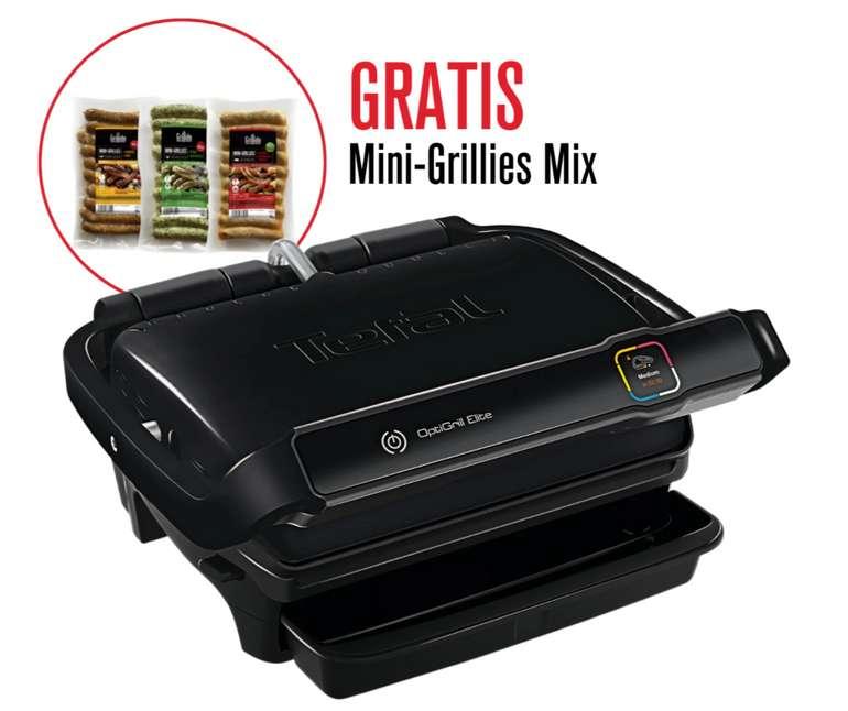Tefal GC7508 OptiGrill Elite Kontaktgrill + Grillpaket für 189€ inkl. Versand (statt 250€)