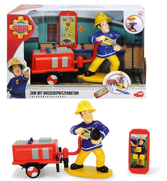 Dickie Toys Sam mit Wasserspritzfunktion Spielset für 9,99€ inkl. Versand (statt 23€)