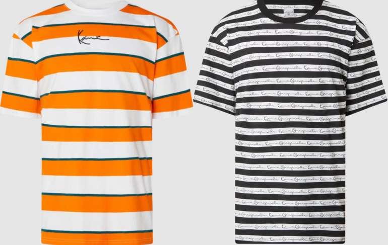 Karl Kani T-Shirt mit Streifenmuster (2 Farben) für 9,99€inkl. Versand (statt 18€)