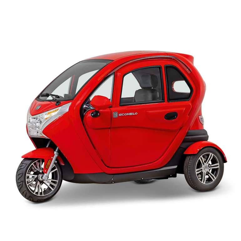 ECONELO F1 Kabinenroller in Rot für 3.999,20€ inkl. Versand (statt 4.800€)