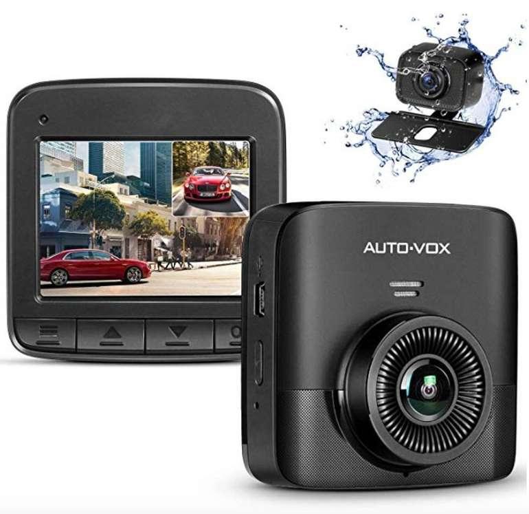 Auto-Vox FHD 1520p Dual Dashcam (Autokamera für vorne und hinten) nur 60,89€