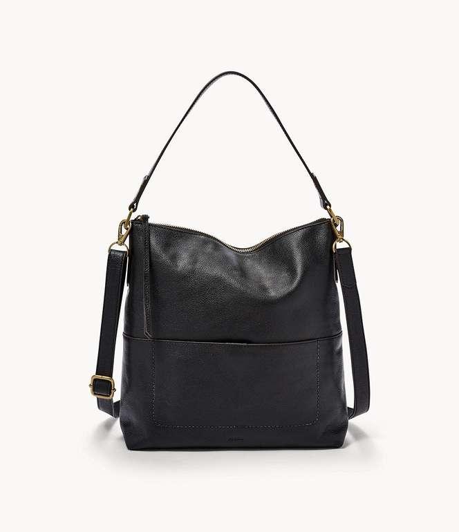 Fossil Damen Tasche Amelia - Hobo in Schwarz für 79,80€ inkl. Versand (statt 183€)
