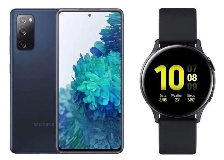 Samsung Galaxy S20 FE + Galaxy Watch Active + Charger (1€) + o2 Allnet-Flat inkl. 60GB LTE für 34,99€ mtl.