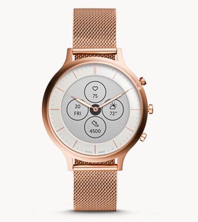 30% Rabatt auf Fossil Hybrid Smartwatches – z.B. Cahrter HR Damen Hybrid Smartwatch in Roségold für 139,30€