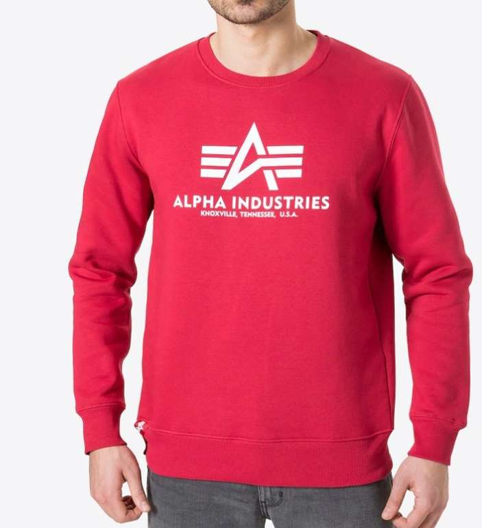 Alpha Industries Basic Sweater für 34,90€ inkl. Versand (statt 49€)