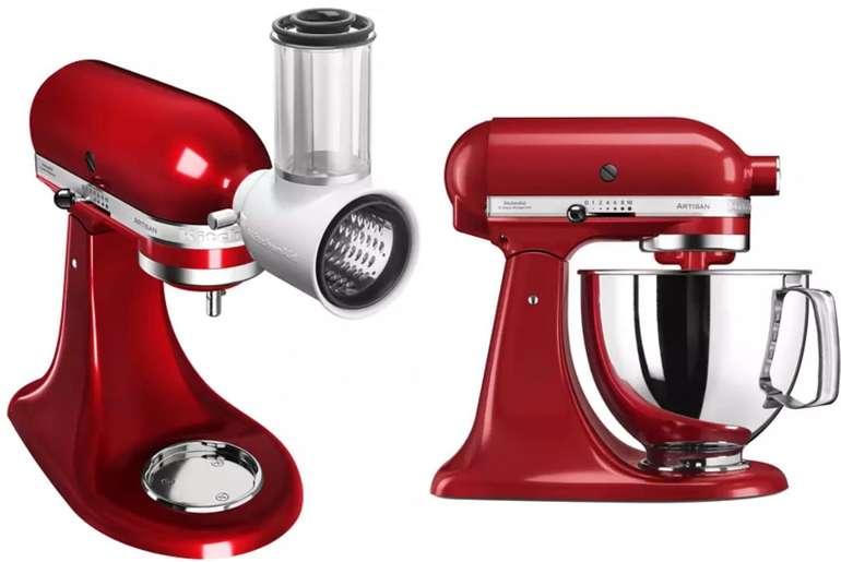 KitchenAid Veggie Set Artisan: 5KSMVSA Küchenmaschine + 5KSM125EOB Gemüseschneider für 444,50€