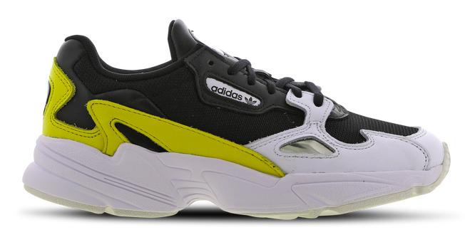 adidas Falcon Damen Schuhe in gelb-weiß-schwarz für 29,99€inkl. Versand (statt 100€)