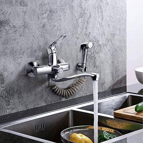 Dalmo Küchenarmatur mit Spritzpistole & 2 Wasserstrahlarten für 42,59€ (statt 58€)