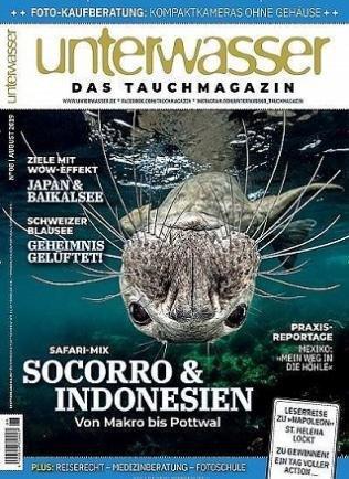 """Jahresabo """"Unterwasser"""" für 82,60€ + z.B. 80€ Otto oder Zalando Gutschein"""