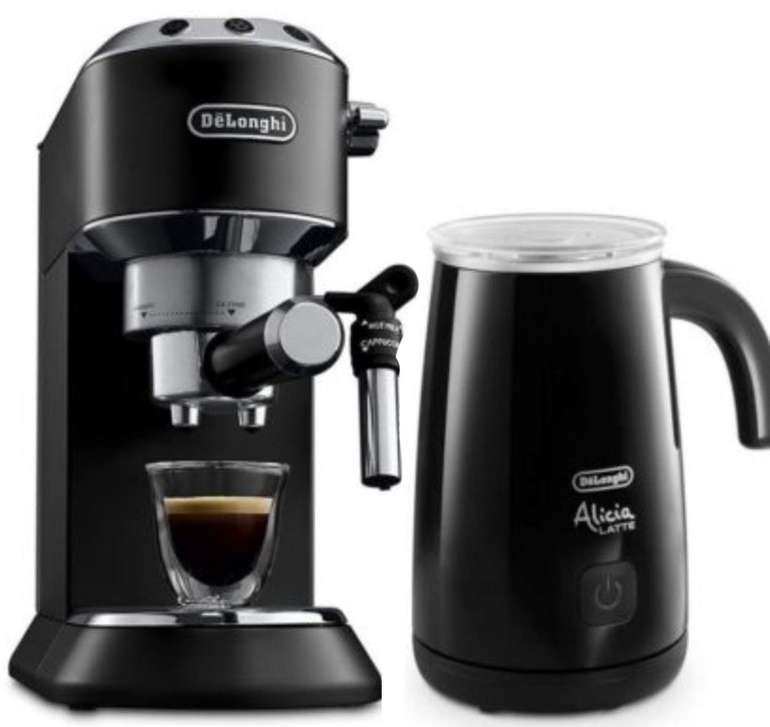 DeLonghi EC 685.BK Dedica Style Espressomaschine + Milchaufschäumer ab 148,99€ (statt 206€)