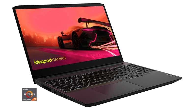 Alternate Lenovo Deals zu starken Preisen - z.B  Lenovo IdeaPad Gaming 3 15ARH05 (82EY00J5GE) für 672,99€