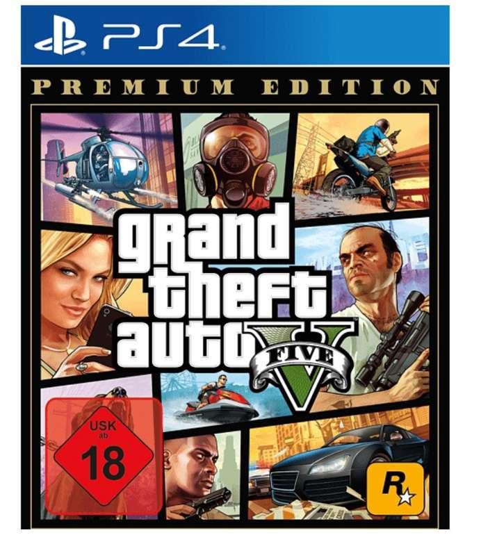 Media Markt Gaming-Highlights 2020 - z.B. Grand Theft Auto V – PS4 Premium Edition für 17,99€ (statt 25€)