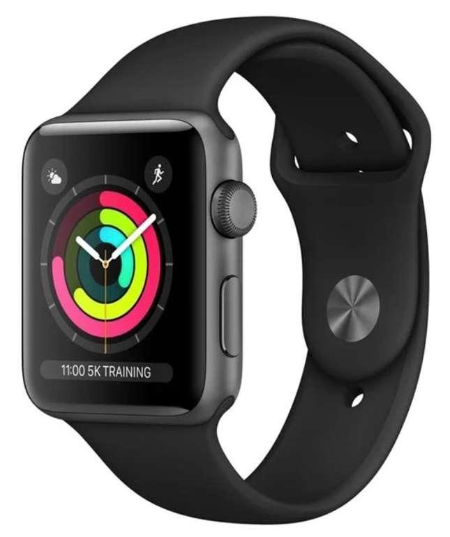 Apple Watch Series 3 GPS 42mm Sportarmband für 190,61€ inkl. Versand (statt 220€)