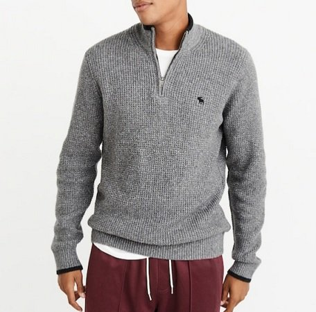 Abercrombie & Fitch Grobstrick-Pullover für 38,21€ inkl. VSK