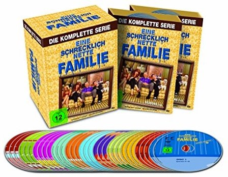 Komplettbox - Eine schrecklich nette Familie (33 DVDs) nur 30,33€ inkl. Versand