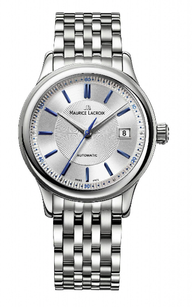 Maurice Lacroix Les Classiques Automatic Stahlband Armbanduhr für 459€ inkl. Versand (statt 1.095€)