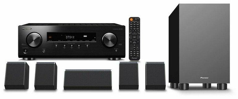 Pioneer HTP-076 schwarz 5.1 Heimkino-System (Bluetooth, Dolby Atmos) für 313,85€ (statt 397€)