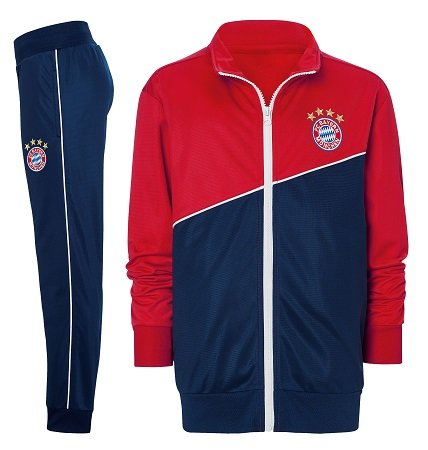 FC Bayern Fanshop mit bis zu -50% Rabatt + 10€ Extra, z.B. Trainingsanzug 45€