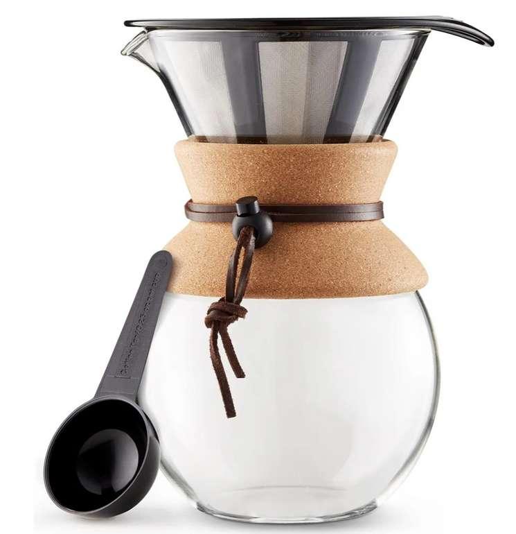 Bodum® Pour Over Kaffeebereiter (1 Liter ) im Kork-Style für 29,99€inkl. Versand (statt 40€)